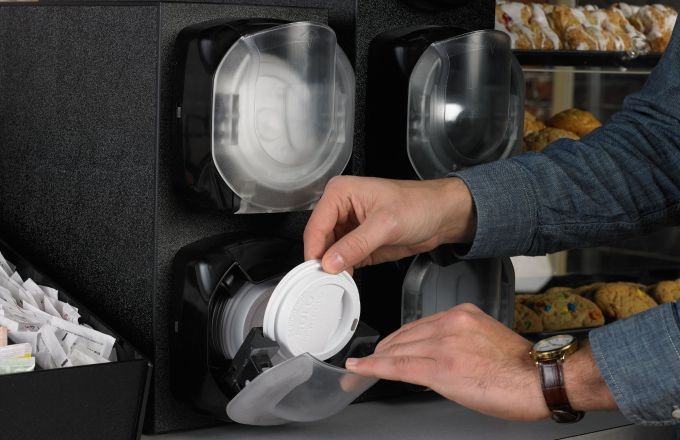 Dispense Lids, Don't Stack 'Em